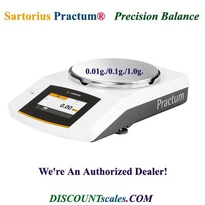 Sartorius® PRACTUM3102-1S Balance (3100g. x 0.01g.)