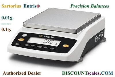 Sartorius® ENTRIS822i-1S Balance (820g. x 0.01g.)