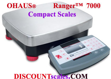 Ohaus® R71MD35 Ranger™ 7000 Compact Bench Scale (70 lb. x 0.001 lb.)