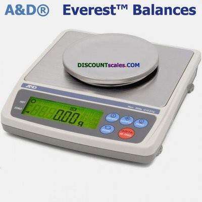 A&D Weighing® EK-610i Everest™ Balance  (600g. x 0.01g.)