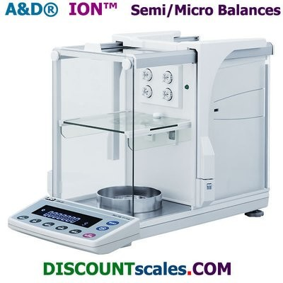 A&D Weighing® iON™ BM-20 Micro Balance    (22g. x 0.001mg.)