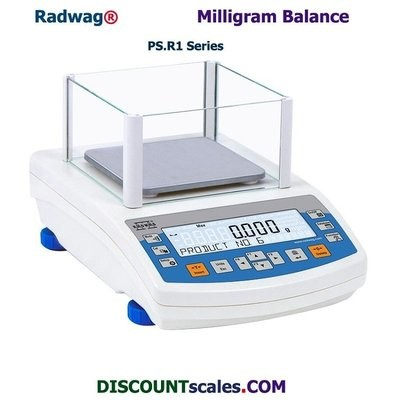 Radwag PS 360.R1 Milligram Balance       (360g. x 1.0mg.)