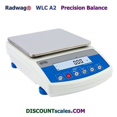 Radwag® WLC 20/A2 Balance       (20Kg. x 0.1g.)