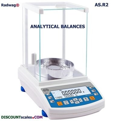 Radwag® AS 60/220.R2  Analytical Balance      (60g. x 0.01mg.  + 220g. x 0.1mg.)