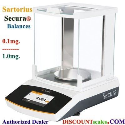 Sartorius® SECURA124-1S Analytical Balance (120g. x 0.1mg.)