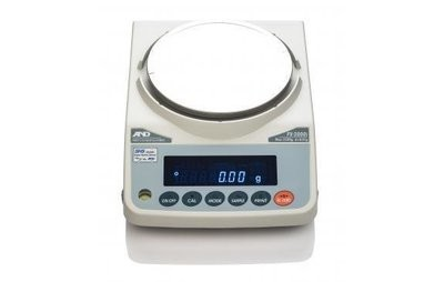 A&D Weighing® FZ-3000iWP Waterproof Balance    (3200g. x 0.01g.)