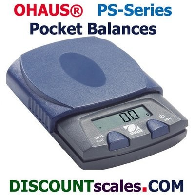 Ohaus® PS251 Pocket Balance   (250g. x 0.1g.)