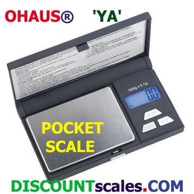 Ohaus YA302 Pocket Balance  (300g. x 0.05g.)