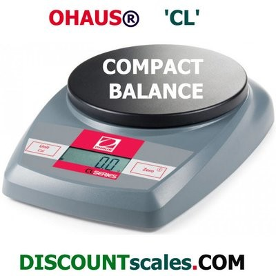 Ohaus® CL5000 Compact Balance (5000g. x 1.0g.)