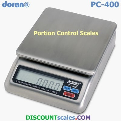 Doran PC400-10 Portion Control Scale  (4500g. x 2.0g.)