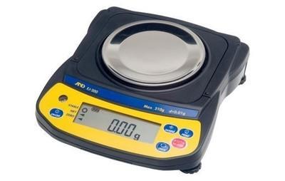 A&D Weighing® Newton™ EJ-410 Balance (410g. x 0.01g.)