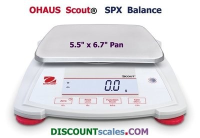 Ohaus Scout SPX1202 Balance (1200g. x 0.01g.)
