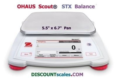 Ohaus® Scout™ STX2202 Balance (2200g. x 0.01g.)