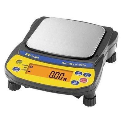A&D Weighing® Newton™ EJ-3002 Balance (3100g. x 0.01g.)
