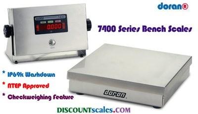 Doran® 7450 Bench Scale  (50 lb. x 0.01 lb.)