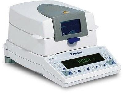 Intelligent Weighing® XM 60-HR Precisa Moisture Analyzer       (124g. x 0.1mg.)
