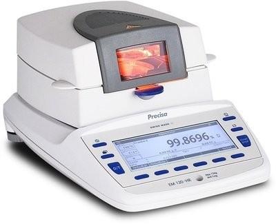 Intelligent Weighing® EM 120-HR Moisture Analyzer       (124g. x 0.1mg.)