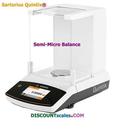 Sartorius QUINTIX125D-1S  (60g. x 0.01mg. + 120g. x 0.1mg.)