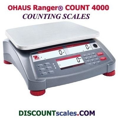 Ohaus® RC41M30 Ranger™ 4000 Counting Scale (30,000g. x 1.0g.)