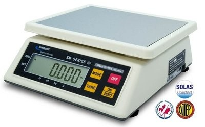 Intelligent Weighing XM-15 NTEP Food Scale   (15Kg. x 5.0g.)