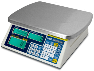 Intelligent Weighing® OAC-6 Counting Scale      (12 lb. x 0.001 lb.)