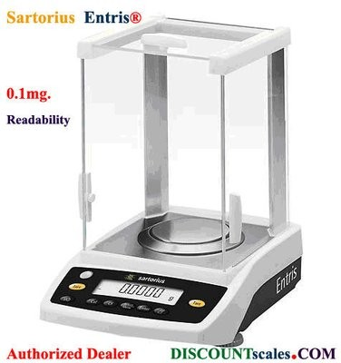 Sartorius® ENTRIS64i-1S Analytical Balance   (60g. x 0.1mg)
