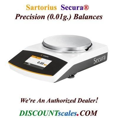 Sartorius® SECURA3102-1S Balance (3100g. x 0.01g.)