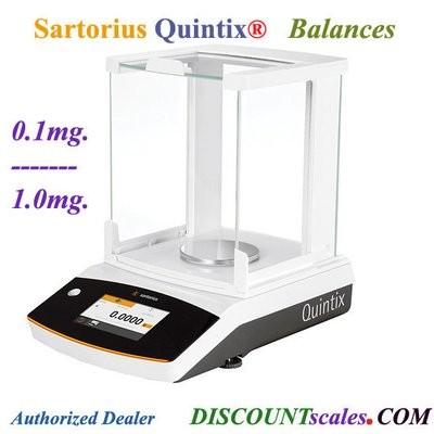 Sartorius® QUINTIX64-1S Analytical Balance (60g. x 0.1mg.)
