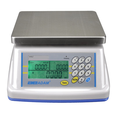 Adam WBZ 15aM Washdown Retail Scale  (15.0 lb. x 0.005 lb.)