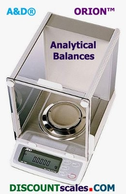 A&D Weighing® Orion™ HR-202i Analytical Balance   (220g. x 0.1mg. + 51g. x 0.01mg.)