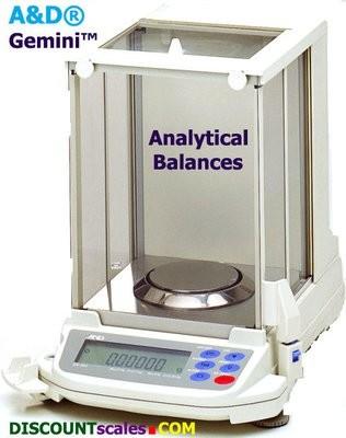 A&D Gemini GR-202 Analytical Balance  (220g. x 0.1mg. + 42g. x 0.01mg.)