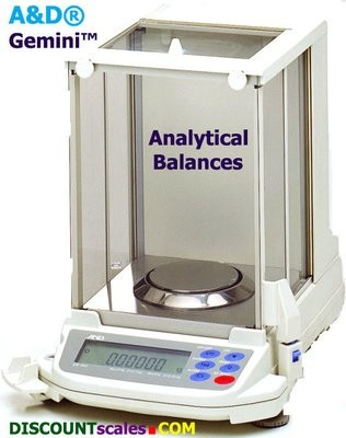 A&D Weighing® Gemini™ GR-200 Analytical Balance (210g. x 0.1mg.)