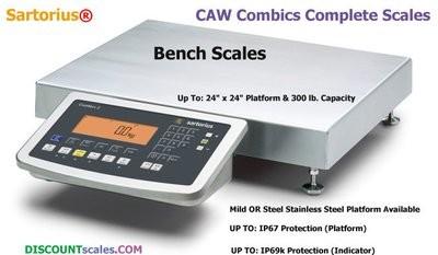 Sartorius CAW2P1U-50DD-I    (60 lb. x 0.002 lb.)