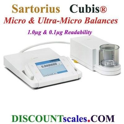Sartorius® MSA6.6S-000-DF Micro Balance | (6.1g. x 0.001mg.)