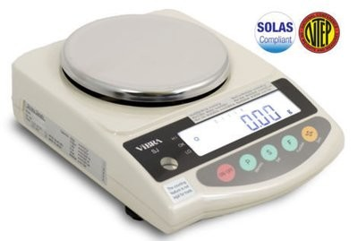 Intelligent Weighing® SJ-420-NT NTEP Balance   (420g. x 0.01g.)