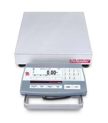 Ohaus® D52P12RQR5 Defender™ 5000 Bench Scale  (25 lb. x 0.001 lb.)