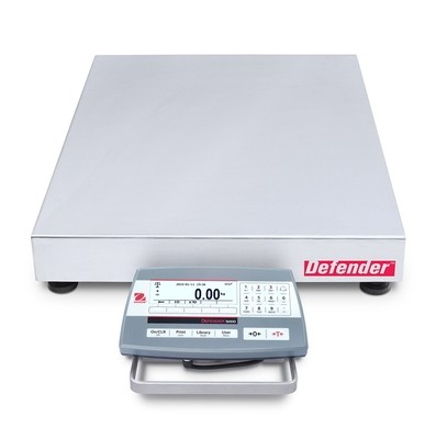 Ohaus D52P125RTX5 Defender 5000 Bench Scale  (250 lb. x 0.01 lb.)