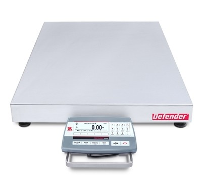 Ohaus® D52P250RQV5 Defender™ 5000 Bench Scale  (500 lb. x 0.02 lb.)