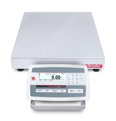 Ohaus D52XW50RQL5 Defender 5000 Washdown Bench Scale  (100 lb. x 0.005 lb.)