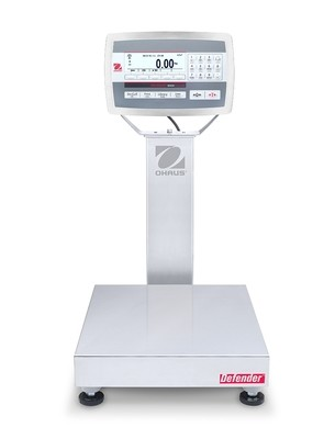 Ohaus® D52XW12RTR1 Defender™ 5000 Washdown Bench Scale  (25 lb. x 0.001 lb.)