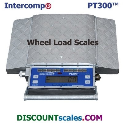 Intercomp® 181007-RFX Wireless Solar Wheel Load Scale |  (20,000 lb. x 20.0 lb.)