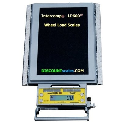 Intercomp® 182007-RFX Wireless Solar Wheel Load Scale  |  (10,000 lb. x 5.0 lb.)