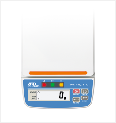 A&D Weighing® HT-5000CL Compact Scale      (5100g. x 1.0g.)