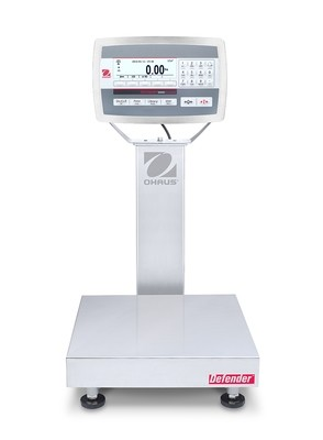 Ohaus® D52XW12WQR6 Defender™ 5000 Washdown Bench Scale  (25 lb. x 0.001 lb.)