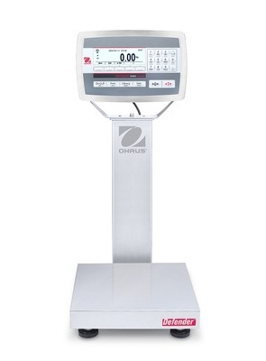 Ohaus® D52XW12WQS6 Defender™ 5000 Washdown Bench Scale  (25 lb. x 0.001 lb.)