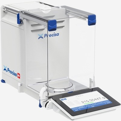 Intelligent Weighing HM-220A Analytical Balance   (220g. x 0.1mg.)