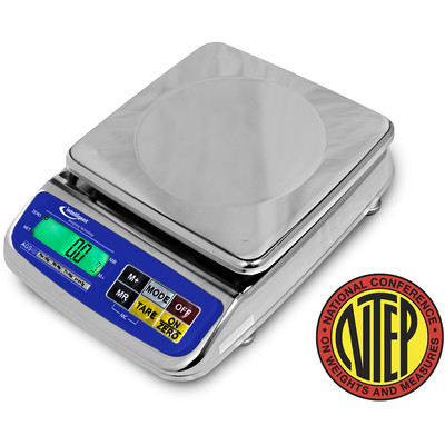 Intelligent Weighing® AGS-1500 Waterproof Scale (600g./1500g. x 0.2g./0.5g.)