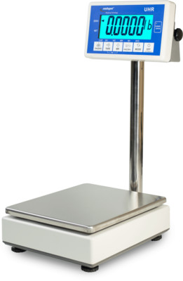 Intelligent Weighing® UHR-15EL Bench Scale      (33 lb. x 0.001 lb.)