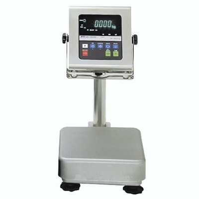 A&D Weighing® HV-15KWP Washdown Bench Scale  (6|15|30 lb. x 0.002|0.005|0.01 lb.)