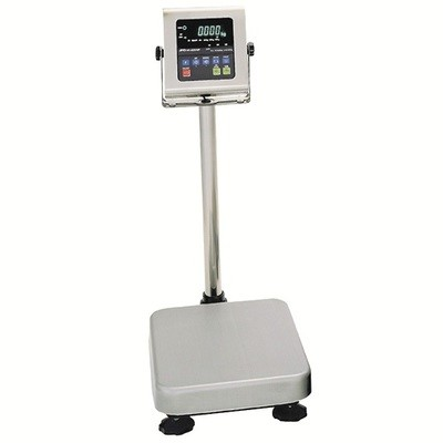 A&D Weighing® HW-60KWP Washdown Bench Scale  (150 lb. x 0.01 lb.)